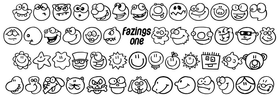 Fazings One font