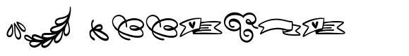 Fb Doodled font