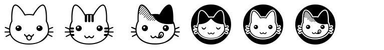 FB Nyan 字形