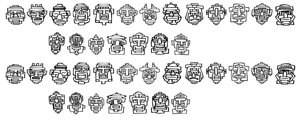 FE 20 Faces フォント