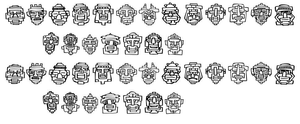 FE 20 Faces font