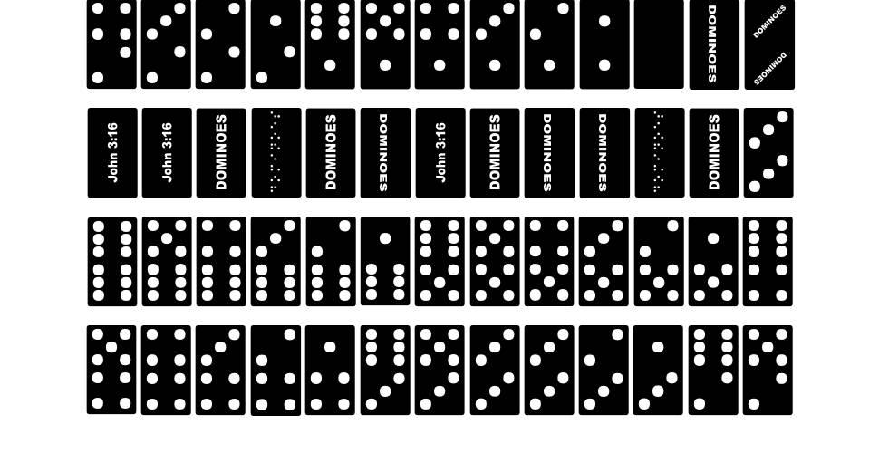 FE Dominoes fonte