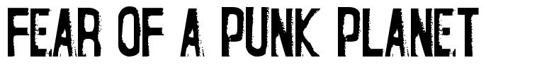 Fear of a Punk Planet police