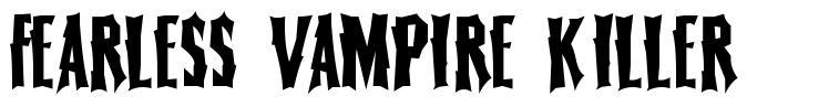 Fearless Vampire Killer