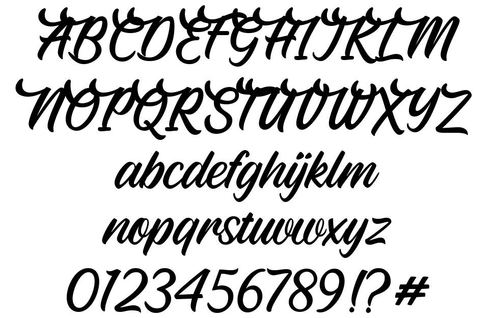 Fearlessly font