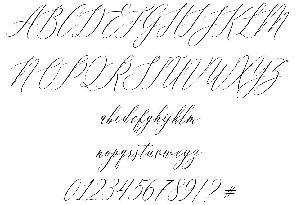 Feelsmooth font