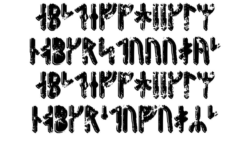 Fenrir Runic font