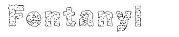 Fentanyl шрифт