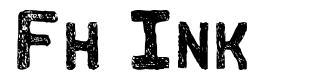 Fh Ink font