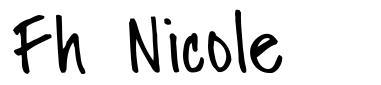 Fh Nicole font