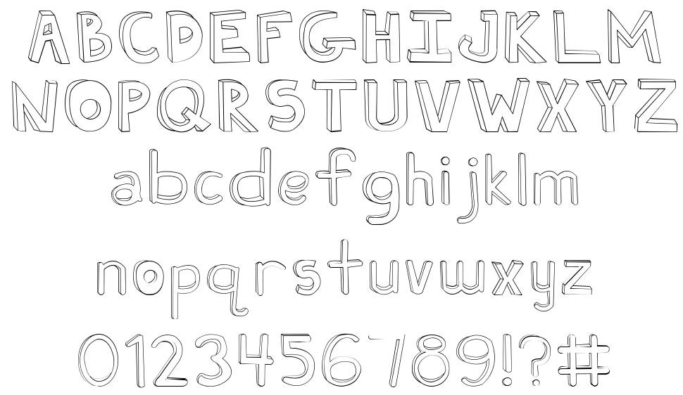 Fh Ugly font