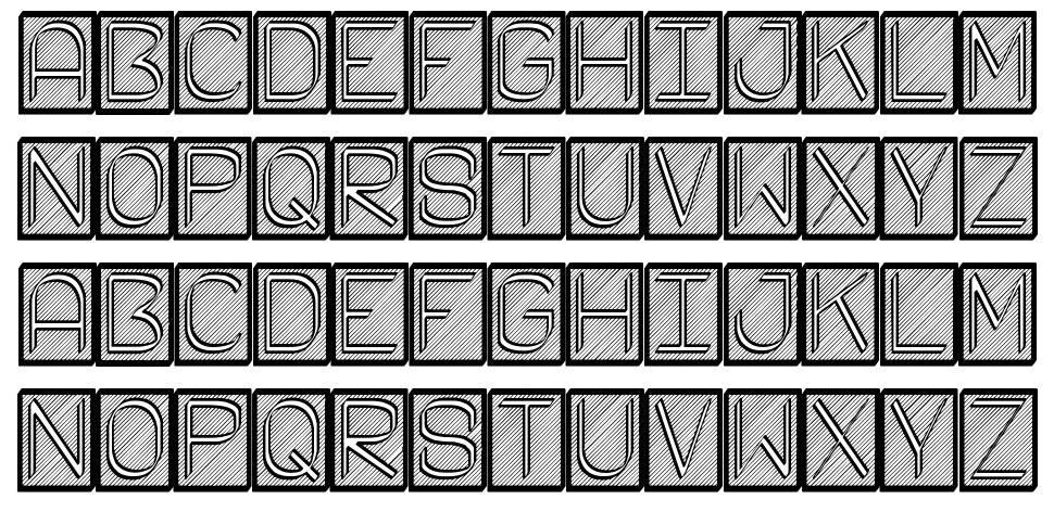 Fichas ST font