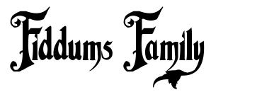 Fiddums Family