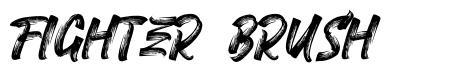Fighter Brush font