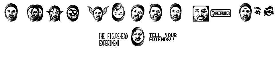 Figurehead Experiment font