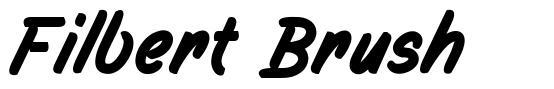 Filbert Brush font