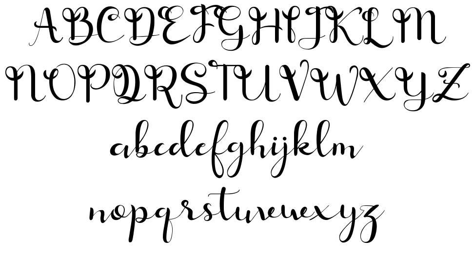 Fimayra font