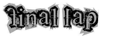 Final Lap font