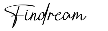 Findream font