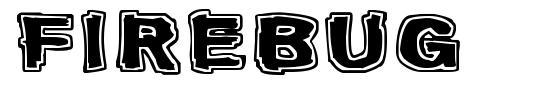 Firebug font