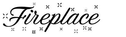 Fireplace font