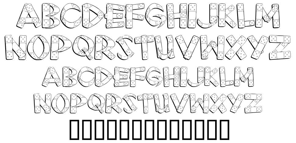 First Aid font