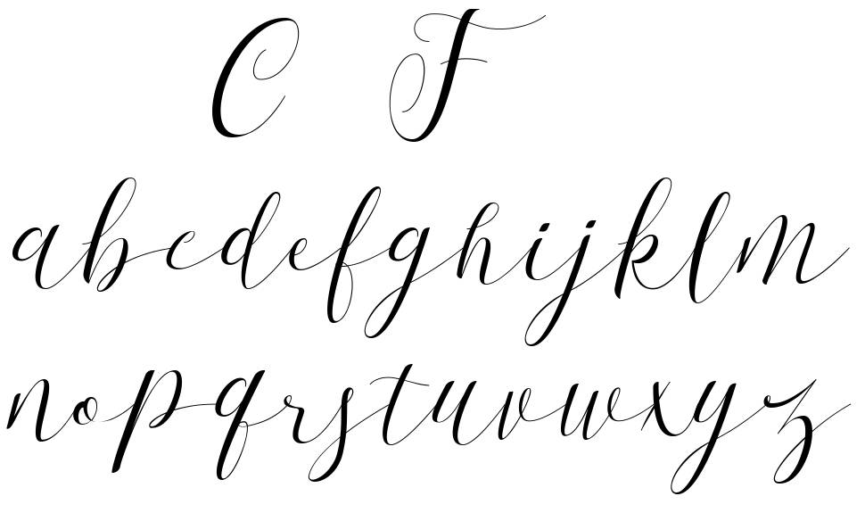 First Choice font