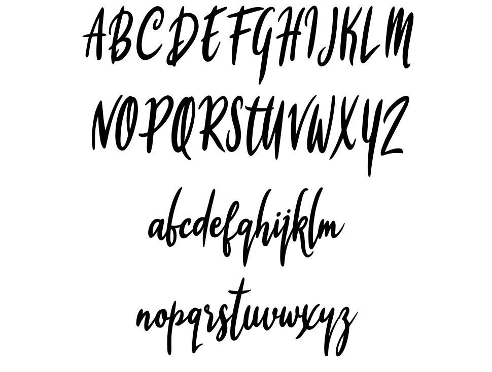 Firyana Beauty font