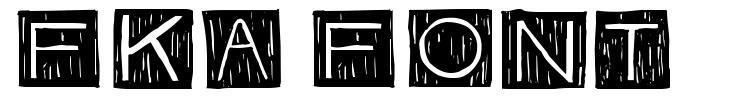 FKA Font font