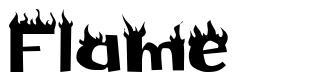 Flame 字形