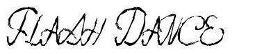 Flash Dance font