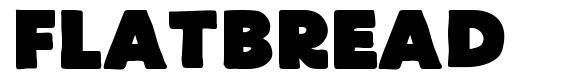 FlatBread font
