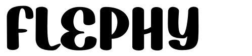 Flephy font