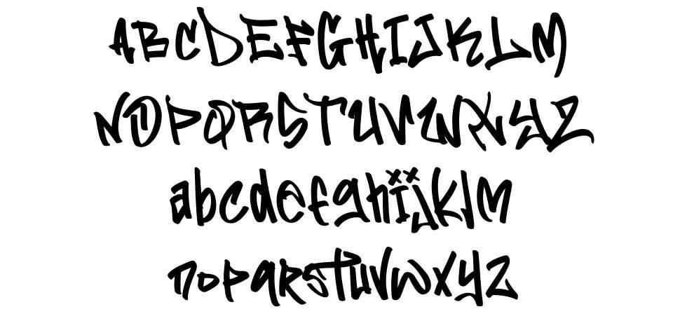 Flim Flom Graffiti font