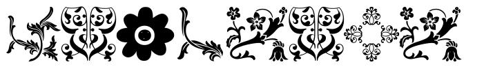 Floralia font