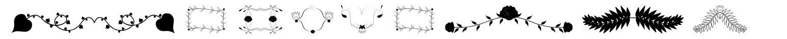 Florality font