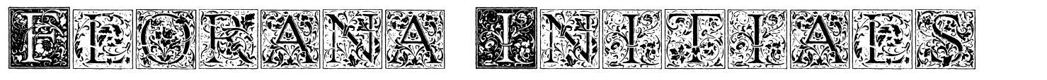 Florana Initials