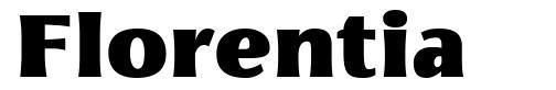 Florentia font