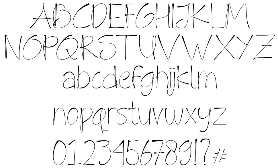 Fly High font