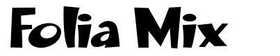 Folia Mix font