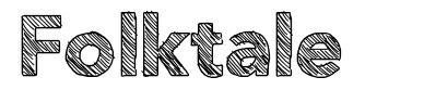 Folktale font