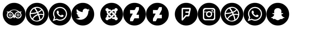 Font 100 Icons font