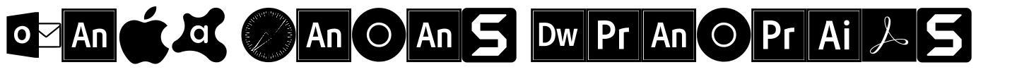 Font Logos Programs police