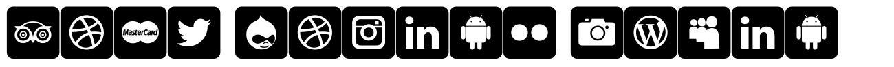 Font Social Media schriftart