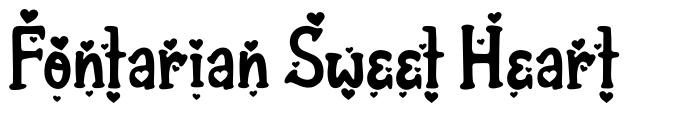 Fontarian Sweet Heart