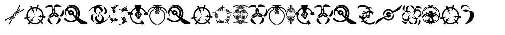 Fonts Vector Ancient Symbol font