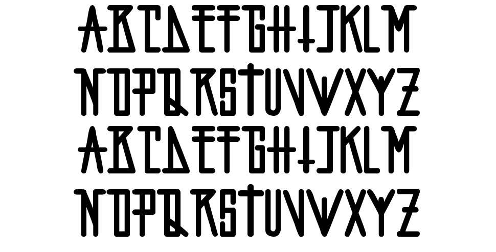 Fopi Artchiko font
