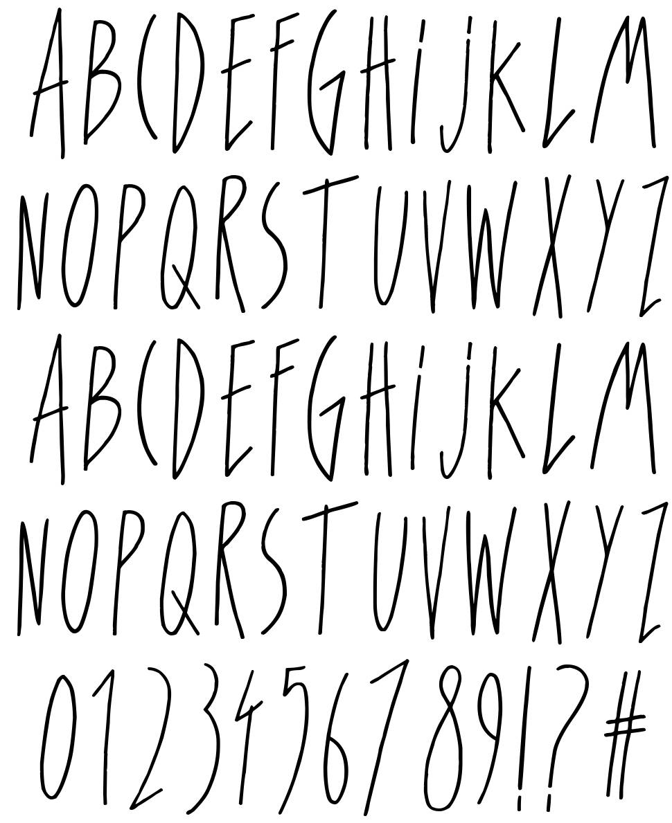 For Girls Only font