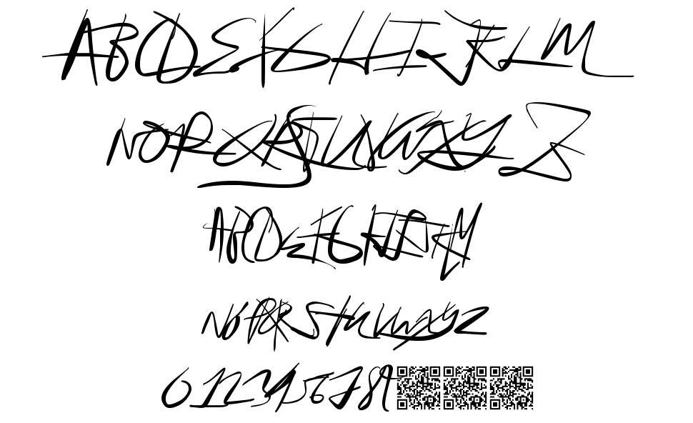 For Sale font