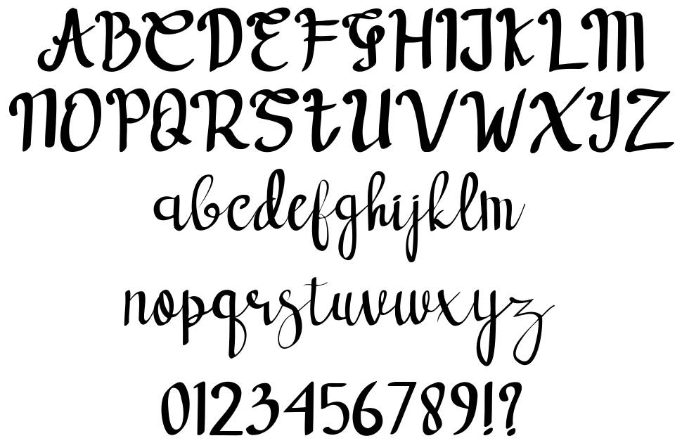 Forest Dream font